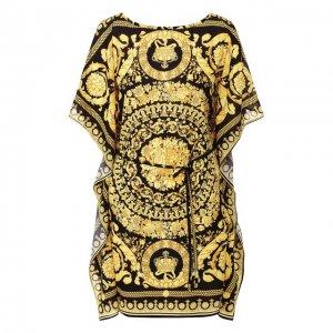 Туника Versace. Цвет: чёрный