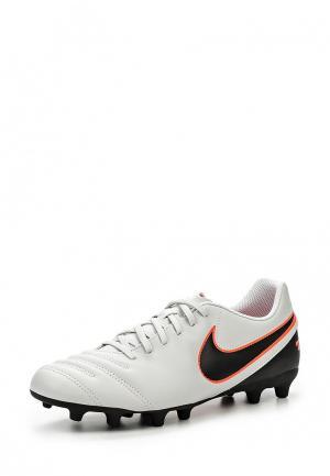 Бутсы Nike TIEMPO RIO III FG. Цвет: серый