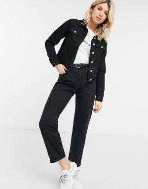Джинсовая куртка черного цвета Sierra-Черный цвет Bolongaro Trevor
