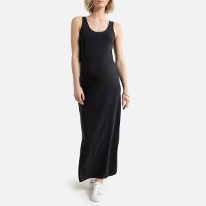 Платье-топ La Redoute. Цвет: черный