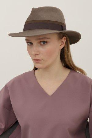 Шляпа федора BAILEY. Цвет: серый
