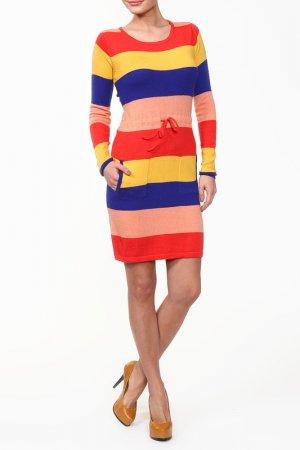 Платье GINGER+SOUL. Цвет: мультицвет