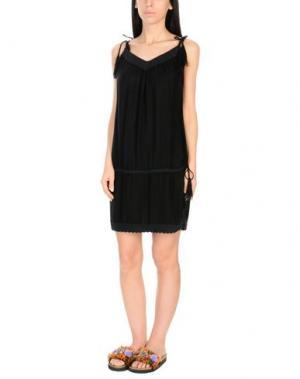 Пляжное платье MELISSA ODABASH. Цвет: черный