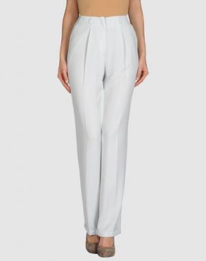 Классические брюки CARAMELO. Цвет: небесно-голубой