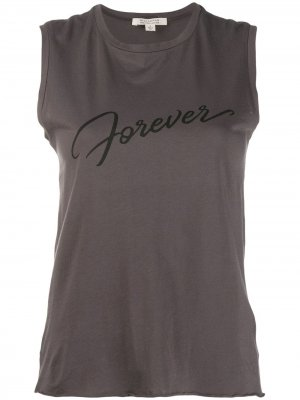 Топ Forever с логотипом Nili Lotan. Цвет: серый