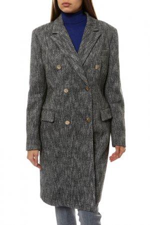 Пальто Versace Collection. Цвет: серый