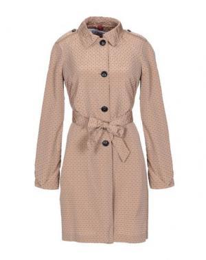 Легкое пальто GEOSPIRIT. Цвет: верблюжий