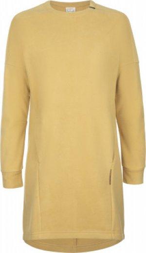 Платье женское , размер 50 Merrell. Цвет: желтый