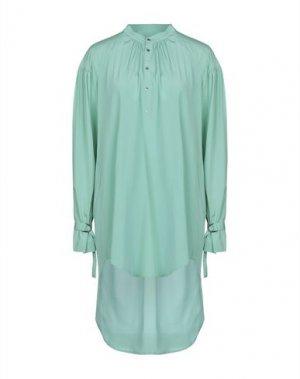Короткое платье A.F.VANDEVORST. Цвет: светло-зеленый