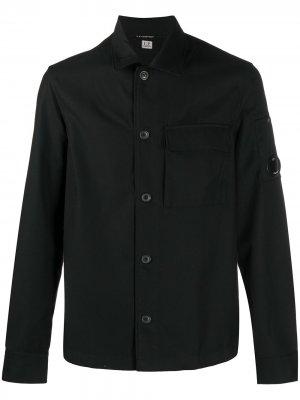 Рубашка с длинными рукавами C.P. Company. Цвет: черный