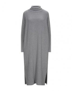 Платье длиной 3/4 MAMA B.. Цвет: серый