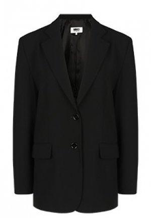 Пиджак MM6 Maison Margiela. Цвет: черный