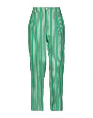 Повседневные брюки ATTIC AND BARN. Цвет: зеленый