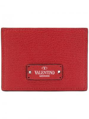 Garavani slip wallet Valentino. Цвет: красный
