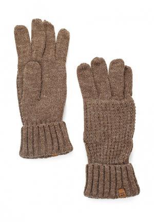 Перчатки Billabong BROOKLYN GLOVES. Цвет: коричневый