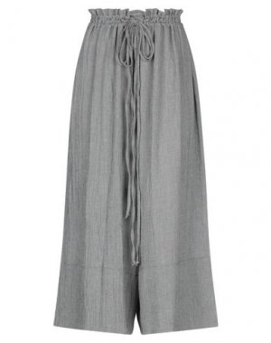 Повседневные брюки MAMA B.. Цвет: черный