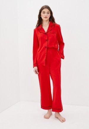 Пижама Minaku. Цвет: красный