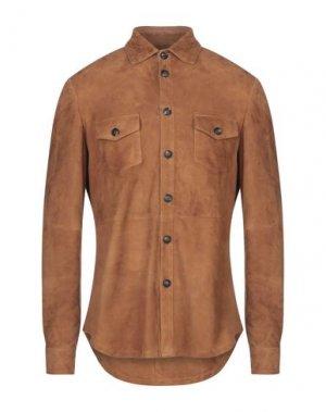 Pубашка AFG' 1972. Цвет: коричневый