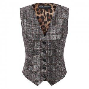 Жилет Dolce & Gabbana. Цвет: серый