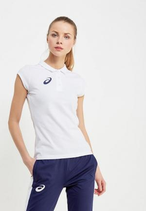 Поло ASICS WOMAN POLO. Цвет: белый