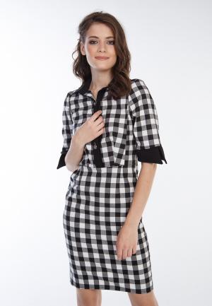 Платье Irma Dressy. Цвет: разноцветный