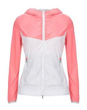 Легкое пальто REFRIGUE. Цвет: лососево-розовый