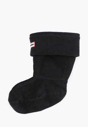 Носки Hunter для резиновых сапог. Цвет: черный