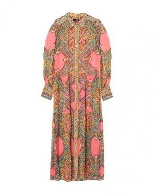 Длинное платье HALE BOB. Цвет: розовый