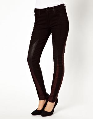 Зауженные джинсы со вставками Joes Jeans Seamstress Joe's
