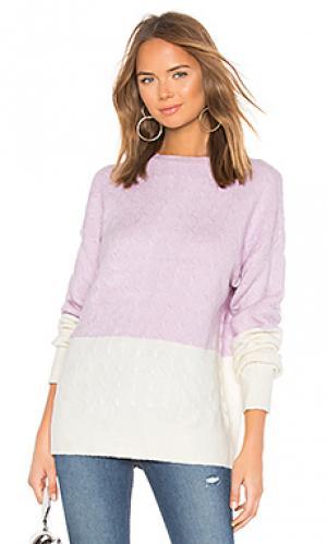 Пуловер tina Lovers + Friends. Цвет: бледно-лиловый
