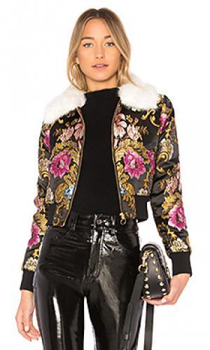 Куртка бомбер LPA. Цвет: черный