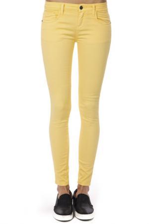 Брюки Trussardi Collection. Цвет: yellow