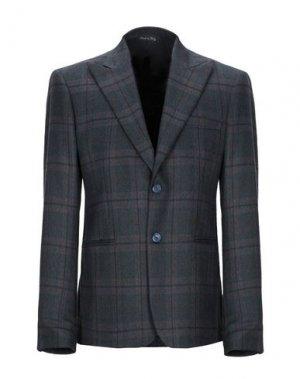 Пиджак SIMON PEET. Цвет: темно-синий