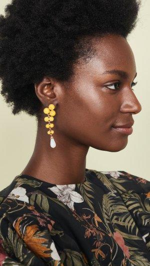 Long Drop Earrings Ben-Amun