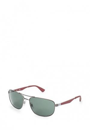 Очки солнцезащитные Ray-Ban® RB3528 190/71. Цвет: серебряный
