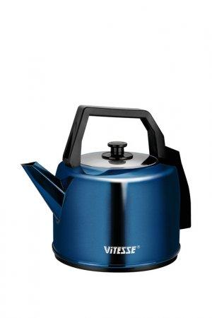 Чайник электрический 4,1л Vitesse. Цвет: черный, синий