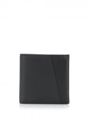 Складной бумажник Bottega Veneta. Цвет: черный