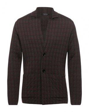 Пиджак SPADALONGA. Цвет: темно-коричневый