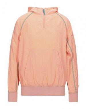 Куртка DUVETICA. Цвет: лососево-розовый