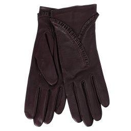 Перчатки RIC_NADEGE/S темно-фиолетовый AGNELLE