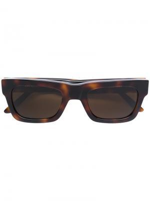 Солнцезащитные очки Greta Sun Buddies. Цвет: коричневый
