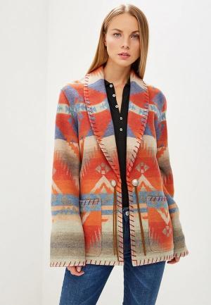 Пальто Polo Ralph Lauren. Цвет: разноцветный