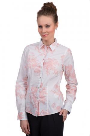 Рубашка с длинным рукавом Arqueonautas. Цвет: оранжевый