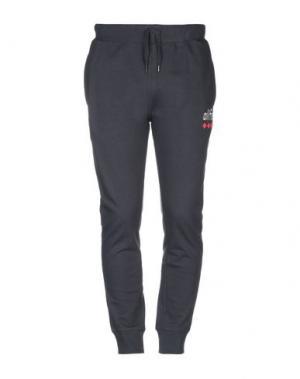 Повседневные брюки ALIFE. Цвет: темно-синий