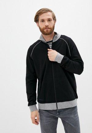 Олимпийка Boss Mix&Match Jacket Z. Цвет: черный