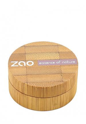 Тени для век ZAO Essence of Nature перламутровые 114 серебро, 3 г. Цвет: серебряный