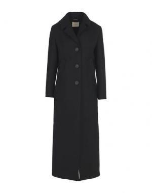 Пальто MOMONÍ. Цвет: черный