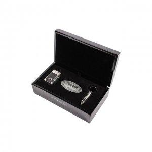 Подарочный набор Premium: зажигалка и пробойник S.T. Dupont. Цвет: бесцветный