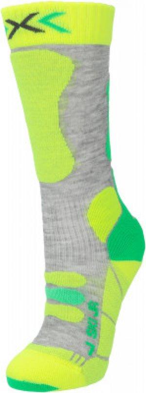 Гольфы детские SKI JR 4.0, 1 пара, размер 35-38 X-Socks. Цвет: серый