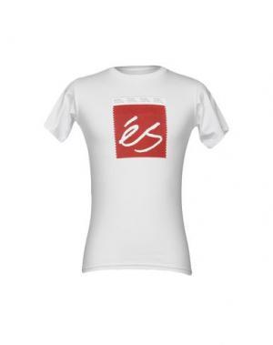 Футболка ÉS. Цвет: белый